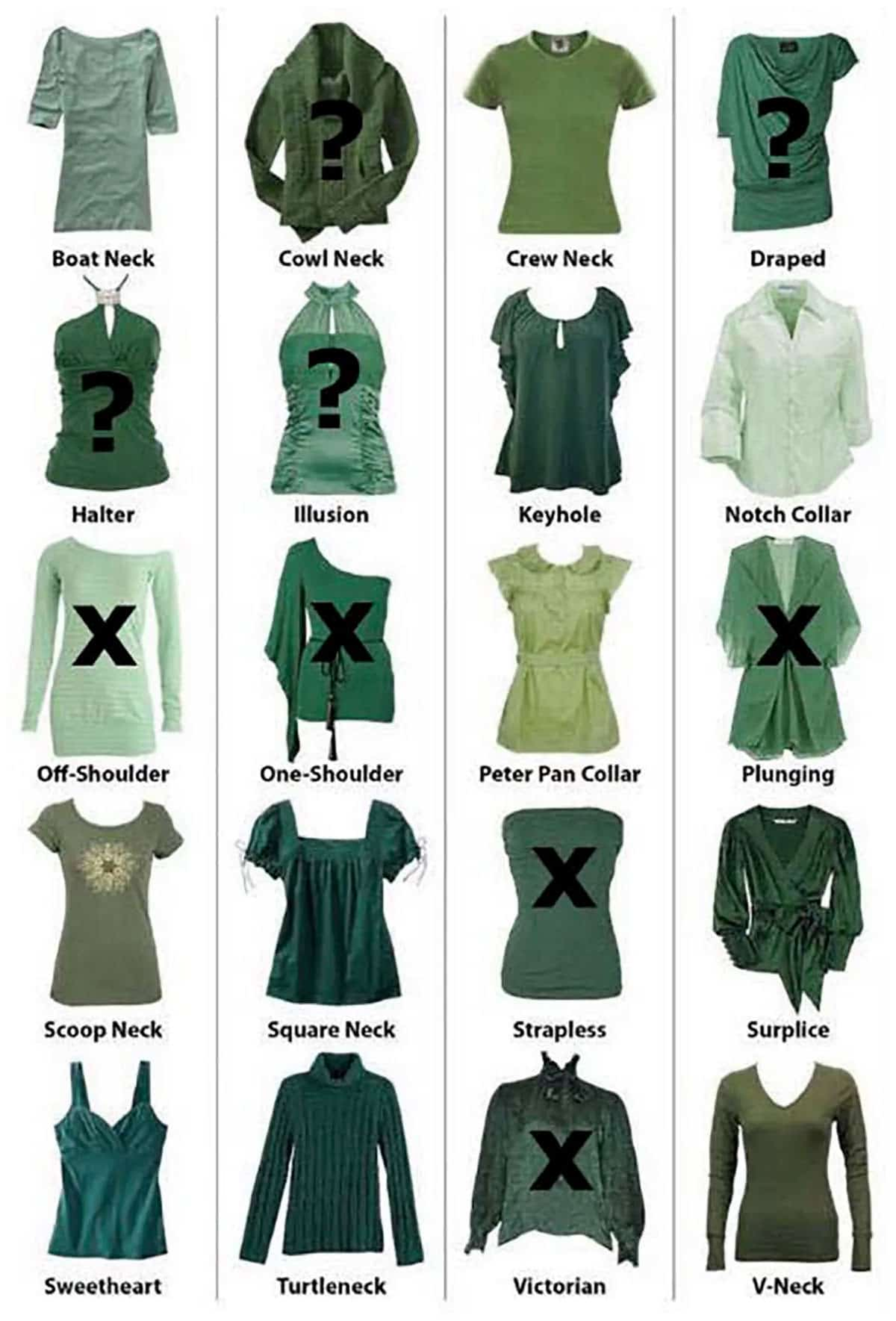 profielfoto tips vrouwen-kleding